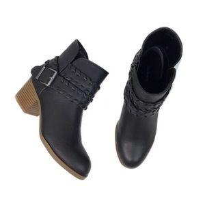 NIB Style & Co Dyanna In Black Ankle Bootie
